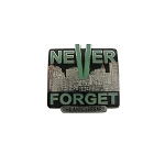 New 9-11 WTC Never Forget Lapel Pin