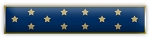 Blue Medal of Honor Award Bar
