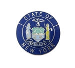 New York State Seal Lapel Pin