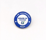 2021 Covid-19 Vaccine Lapel Pin