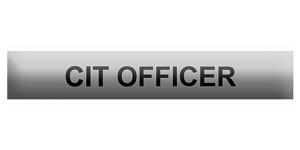 CIT - Crisis Intervention Team Officer Bar