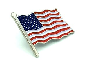 "New ""American Flag"" Beautiful Lapel Pin"