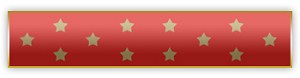 Red Medal of Honor Award Bar
